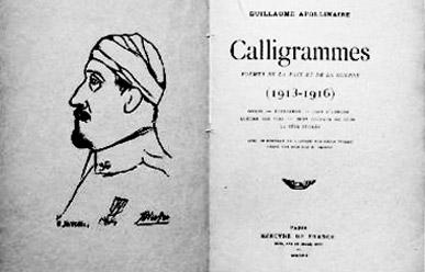 Guillaume Apollinaire Textes Calligrammes Poèmes De La